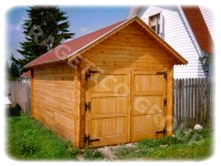 Wooden garage FRG 305528-G