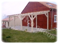 Wooden carport FRG 6051 - LB